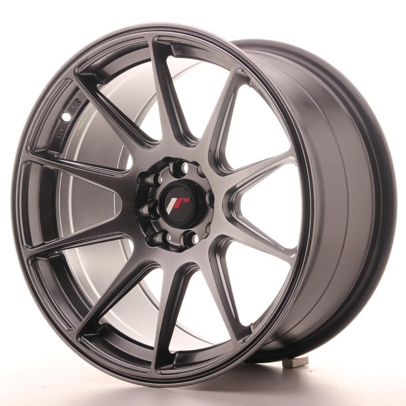 JR11 17x9 ET35 5x100 / 114 Hiper Black