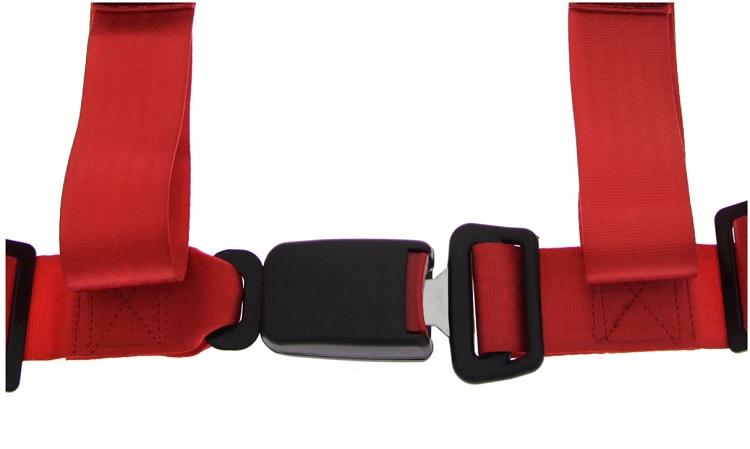 2 Pontos piros biztonsági öv